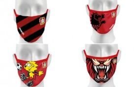 Aneka Masker Klub Sepak Bola, Singa Meraung Paling Dicari