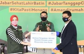 100 Wastafel Portabel BRI Didistribusikan ke Depok dan Bekasi