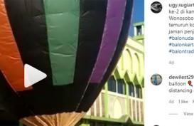 Setelah Ponorogo, Giliran Balon Wonosobo Disita saat Perayaan Syawalan