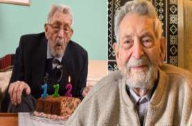 Pria Tertua di Dunia Meninggal Pada Usia 112 Tahun