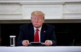 Langgar Aturan, Twitter Pasang Label Peringatan di Tweet Trump