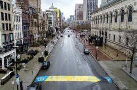 Pertama dalam Sejarah, Penyelenggaraan Boston Marathon…