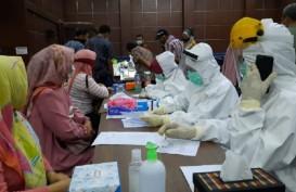 Dinkes Kota Serang Gelar Rapid Test di Gedung DPRD