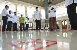 Jelang New Normal, Pemkab Tangerang Gelar Simulasi Pembukaan Masjid