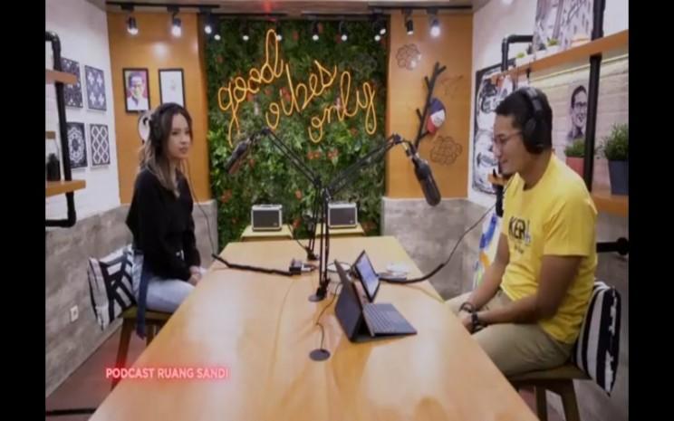 Podcast Sandiaga Uno dan Lyodra