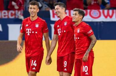 Bayern Munchen Bantai Duesseldorf 5-0, Kukuh di Puncak Klasemen Liga Jerman