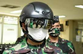 Putus Penyebaran Covid-19, TNI AD Siapkan Helm Canggih Ini