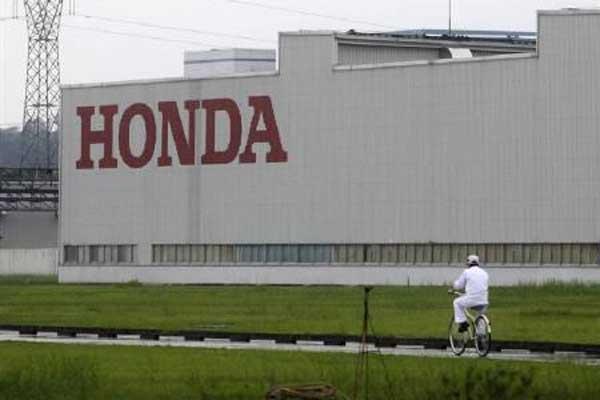 Pabrik Honda.  - Reuters