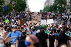 Kerusuhan AS Berlanjut hingga Malam Kelima