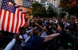 Unjuk Rasa Terus Berlanjut, Polisi AS Tangkap Ratusan Orang