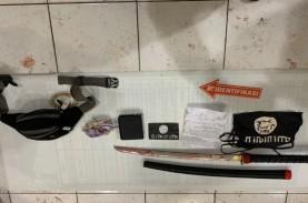 Terduga Teroris di Kalimantan Selatan Bacok Polisi…