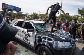 Kepolisian AS Menangkap 4.400 Demonstran Pendukung…