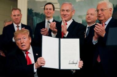 Israel Percepat Persiapan Aneksasi Tepi Barat