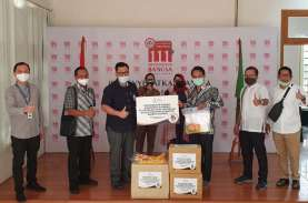 Asuransi Jasindo Salurkan Bantuan Covid-19 Rp1,6 Miliar