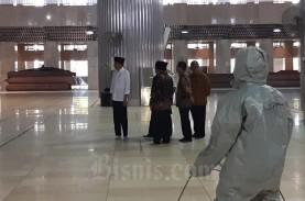 Masjid Istiqlal Rencananya Dibuka Kembali Juli