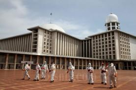 Proses Renovasi Masjid Istiqlal Sudah Capai 91 Persen
