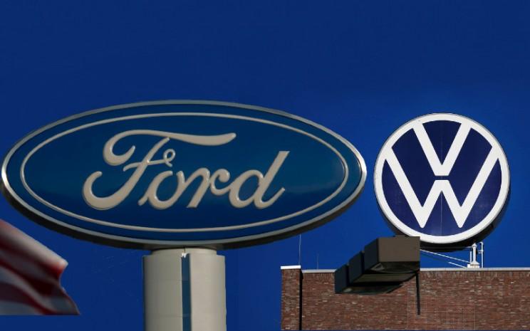 Aliansi Volkswagen-Ford membidik efisiensi yang diumumkan pada 2019 memasuki fase kedua. - Bloomberg