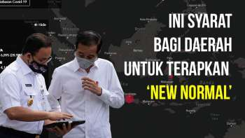Syarat Daerah untuk Terapkan New Normal
