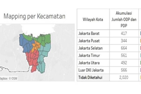 Sebaran Covid 19 Dki Jakarta 2 Juni Kasus Baru Turun Ke Angka 76 Orang