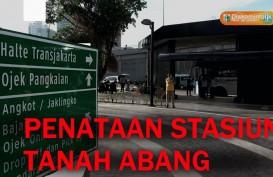 DKI Uji Coba Penataan Stasiun Tanah Abang, Senen dan Sudirman
