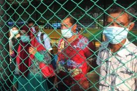 Tak Betah 'Lockdown' di Malaysia, 23 TKI Pulang ke…