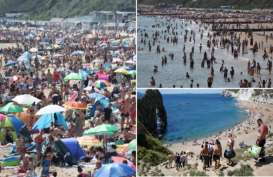 Wisatawan 'Serbu' Pantai, Dorset Dikhawatirkan Alami Gelombang Kedua Virus Corona
