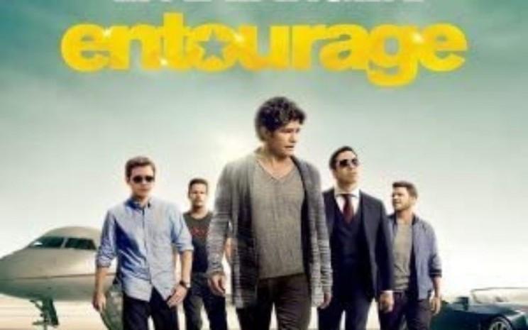 Film Entourage ditayangkan di Bioskop TransTV. - poster