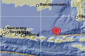 Pulau Saringi NTB Diguncang Gempa Magnitudo 6,0