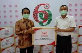 Wuling Salurkan 60.000 masker dan 600 Paket Sembako ke Jabar dan DIY