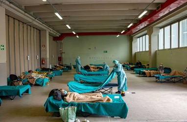 Jumlah Kematian Terkait Virus Corona di Italia Terus Menurun
