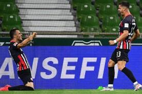 Hasil Bundesliga, Frankfurt Benamkan Werder Bremen…