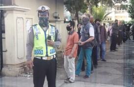 Antrean Panjang Layanan SIM Masih Terjadi di DKI Jakarta