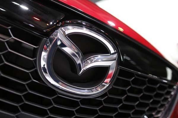 Logo Mazda - Reuters/Jacky Naegelen