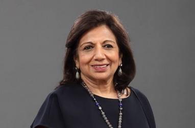 Kiran Mazumdar-Shaw Dinobatkan EY World Entrepreneur Of The Year 2020