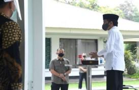 Presiden Jokowi Salat Jumat di Masjid Baiturrahim
