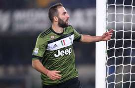Semifinal Coppa Italia, Striker Juventus Higuain Absen vs Milan