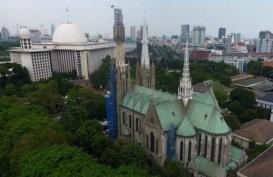 Katedral Jakarta Belum Gelar Misa dalam Waktu Dekat, masih Benahi Protokol Covid-19