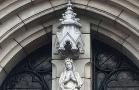 Katedral Belum Buka Layanan, Umat Diminta Ibadah via Online