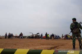Helikopter TNI Jatuh di Kendal, Ini Penjelasan Dispenad