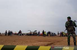 Helikopter TNI Jatuh di Kendal dalam Misi Latihan Taktikal Manuver