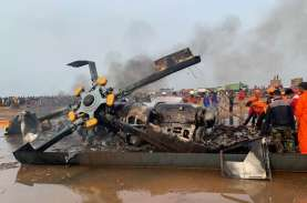 Kronologi Jatuhnya Helikopter di Kendal, Saksi: Heli…