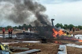 Foto-Foto Evakuasi Helikopter Mi 17 yang Jatuh di…