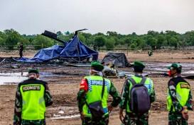 Helikopter TNI AD Jatuh di Kendal, Dua Prajurit Masih Dirawat di ICU
