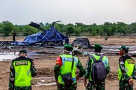 Helikopter TNI AD Jatuh di Kendal, Dua Prajurit Masih…