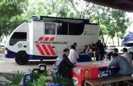 Layanan SIM Keliling Polda Metro Jaya Terganjal Izin Pemprov DKI
