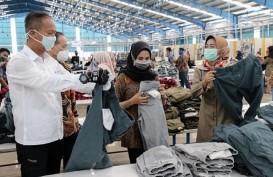 Tinjau Peluang Ekspor Pakaian, Menperin Apresiasi Kawasan Berikat di Brebes
