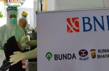 BNI Palembang Gelar 2.000 Tes Swab Gratis untuk Semua Kalangan