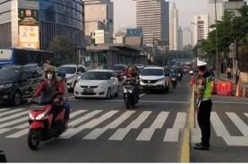 PSBB Transisi, Arus Lalin Jalan Protokol Jakarta Barat…
