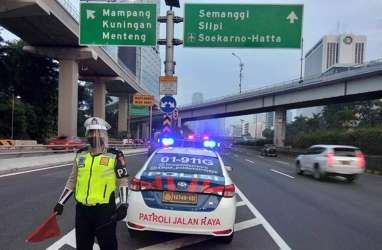 Lalu Lintas Jakarta, Halim - Semanggi Contra Flow Sejak Pagi