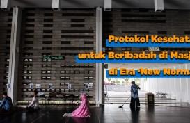 Protokol Kesehatan untuk Beribadah di Masjid di Era New Normal